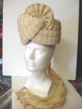 Cream colour prince hat